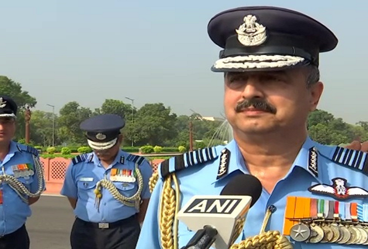 Air Chief Marshal Vivek Ram Choudhary, the newly appointed Chief of the Army Staff of the Indian Air Force, said - Ensuring the security of the country by using the Air Force properly is the first priority, will take steps towards self-reliance