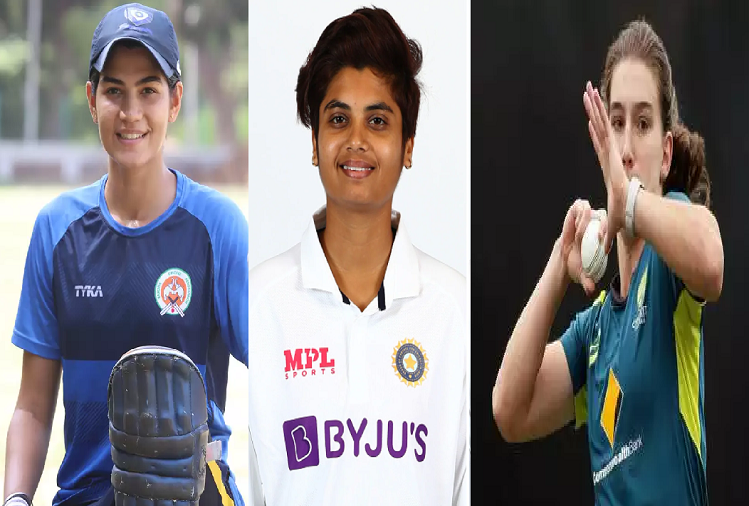 IND v/s AUS  :In the pink ball test match being played between India and Australia, these 6 female players are making their test debut, these two players from India got a chance to make their test debut?