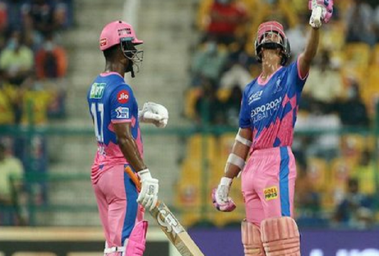 Rajasthan beat Chennai to keep the chances of reaching the playoff alive, Rajasthan Royals came from number seven to sixth, Mumbai reached seventh