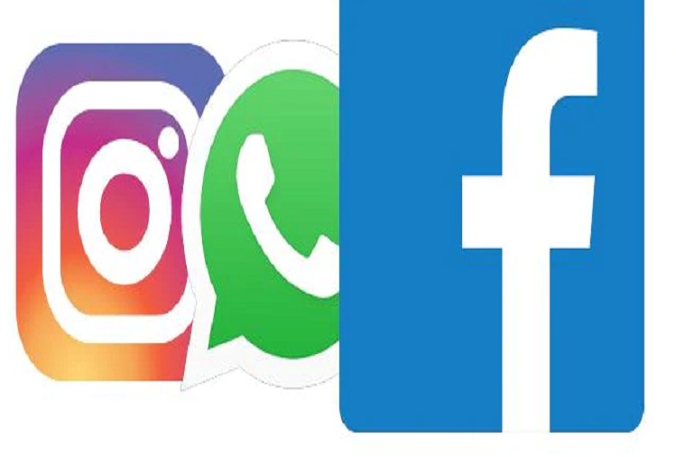WhatsApp, Facebook Instagram and Facebook's Messenger down, the 3 largest platforms of popular social media worldwide, server down of all three apps from 9 pm, users around the world are facing problems