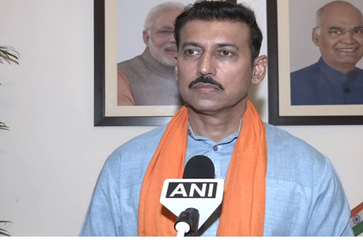 Regarding the lathi charge on farmers in Sriganganagar, Rajasthan, former Union Minister and senior BJP leader Rajyavardhan Singh Rathod said - If the Rajasthan government is to be believed, then there are no farmers in Rajasthan..!