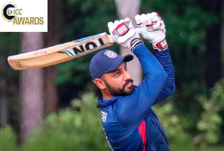 ICC POTM Sep 2021  : ICC gave special reward to Indian-American cricketer Jaskaran Malhotra, who hit 6 sixes in 6 balls, Player of the Month nominated with these two players in September?