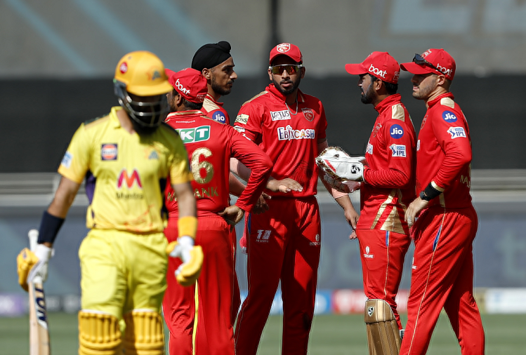 PBKS v/s CSK : Chennai Super Kings gave Punjab Kings a target of 135 runs, Faf du Plessis played an innings of 76 runs in 55 balls, this bowler took the most wickets from Punjab?