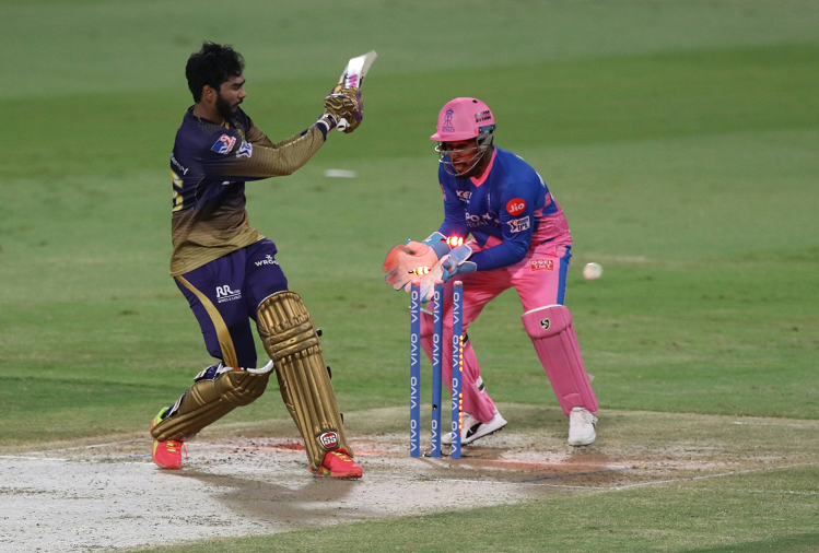 In the 54th match of IPL, Kolkata Knight Riders scored 145 for 3 in 17 overs, playing first against Rajasthan Royals, Shubman Gill and Venkatesh Iyer gave KKR a quick start.