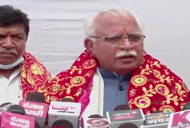 Haryana CM Manohar Lal Khattar apologized for the statement containing one thousand logs, said - I do not want law and order situation in Haryana to deteriorate or peace is disturbed