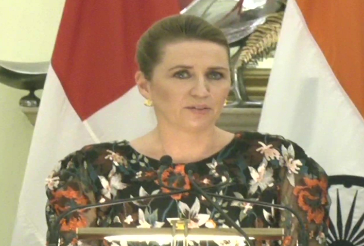 Denmark's PM Mette Fredriksson praised PM Modi, said - PM Modi is an inspiration to the rest of the world, I am proud that you accepted my invitation to visit Denmark