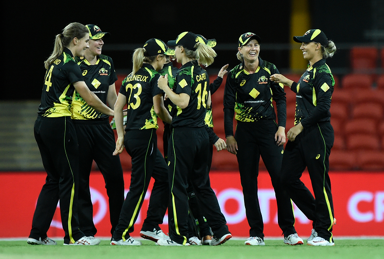 IND v/s AUS (W) 3rd T-20 : Australian women's team defeated the Indian team by 14 runs in the third T20 and won the Twenty20 series 2-0, this player got the player of the match and player of the series?