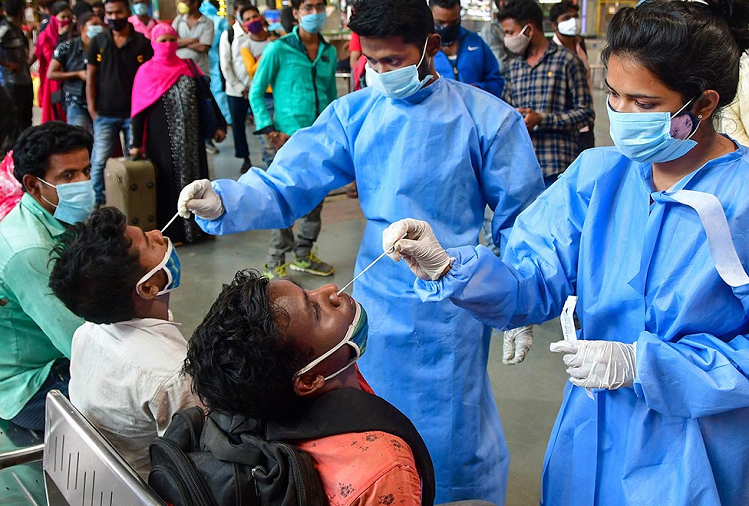 Corona In India: Corona infection under control across the country, more than 14 thousand new patients were found in the last 24 hours, 144 patients died, active cases reduced to less than two lakh