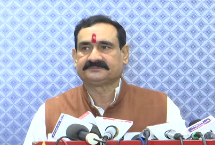 While discussing corona infection, MP Home Minister Narottam Mishra said, we people should make a mindset to live with corona, like we do during malaria or dengue