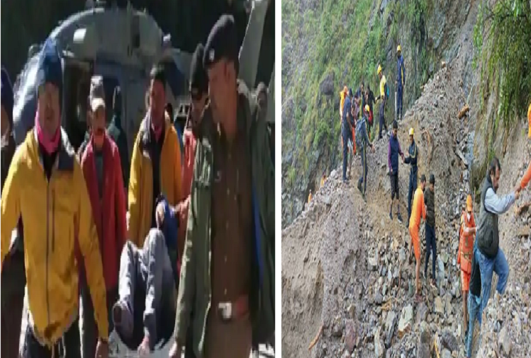 Big accident amidst snowfall in Uttarakhand... 13 trekkers died on trekking, many still missing, search operation underway