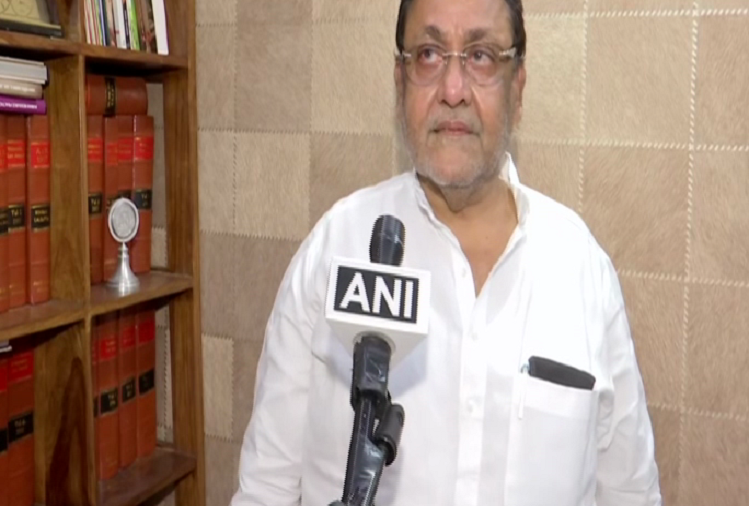 Mumbai : Maharashtra minister and NCP leader Nawab Malik warned NCB officer Sameer Wankhede, said - you will lose your job in a year, now you will not be able to rest without seeing you in jail
