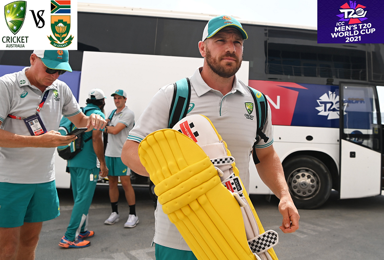 AUS v / s SA : The main phase of the ICC Twenty20 Cricket World Cup 2021 begins with the match between Australia and South Africa today, Australia captain Aaron Finch won the toss and chose to bowl first, this will be South Africa's Playing-11?