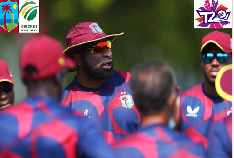 SA v/s WI : Two matches in the Super-12 round in the Twenty20 World Cup today, South Africa clashes with West Indies in the first match, South Africa won the toss, West Indies team will bat first