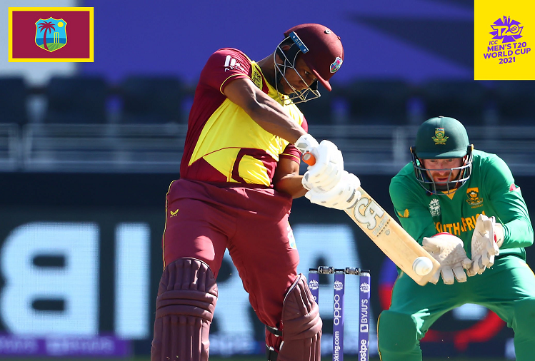 SA v/s WI : Batting first against South Africa, West Indies scored 65 runs for no loss in 10 overs, Evin Lewis continued his explosive innings.